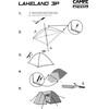 CAMPZ Lakeland Zelt 3P